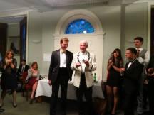 Fellows' boat awarding their captain